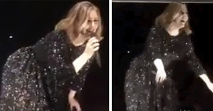 愛黛兒在演唱會時上演「電臀舞」,她跳完後說的話會讓你更愛她!