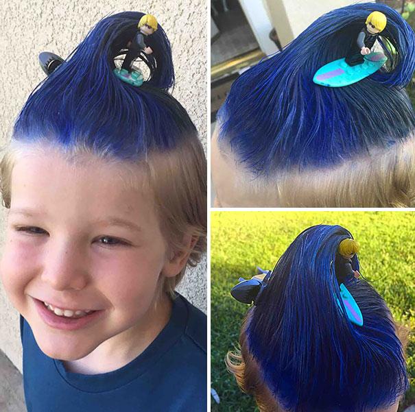 14個會讓很多家長都發現自己其實不夠稱職的「瘋狂小朋友髮型」。