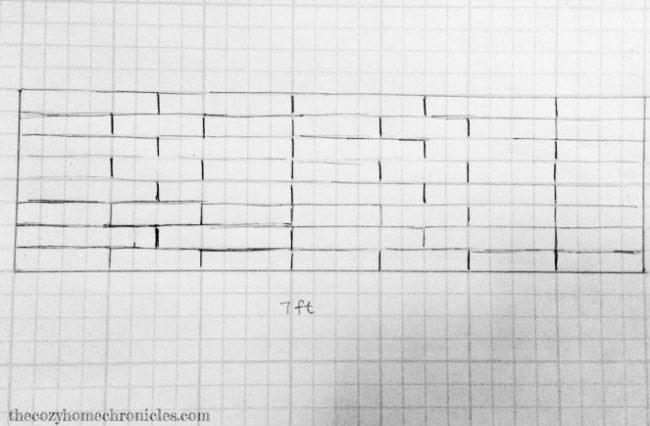 他在紙上畫出一格一格的方格時我還完全看不出來想做什麼,最後出爐的超精美居家空間已經讓我想要立刻試試看!