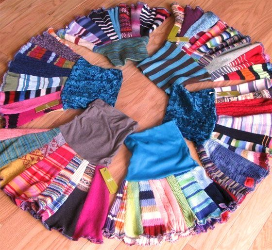 28個會讓你後悔把之前舊毛衣都丟掉的「舊毛衣夢幻變身DIY」。