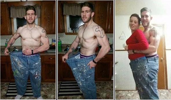 這名男子「被醫生警告會在30歲前死掉」後開始積極減重,一看到他轉過身的模樣讓網友都跌破眼鏡了!