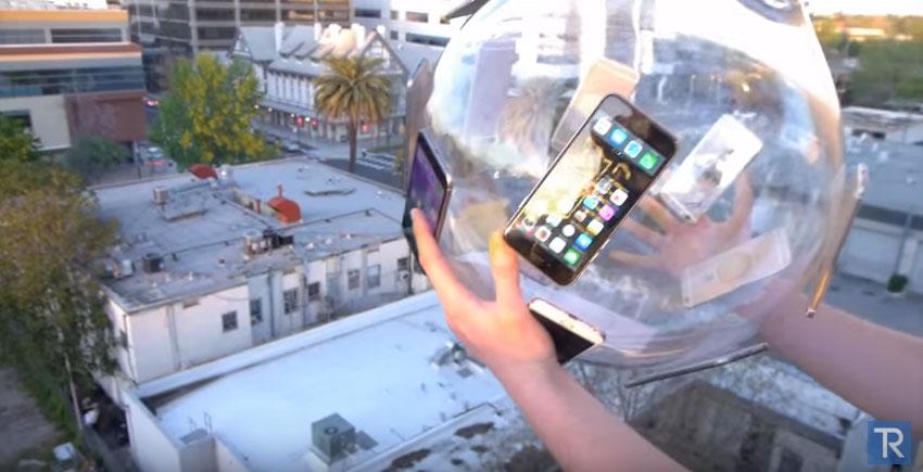 iPhone玻璃球