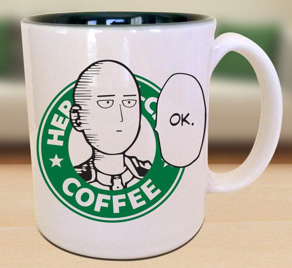 20個被改變成「爆炸帥動漫主角版本」的星巴克咖啡杯。鳴人那個我太想要了!