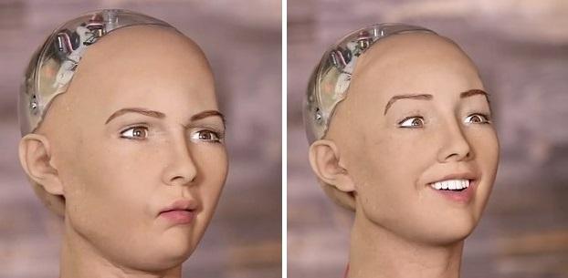 她就是未來會讓你分不清是人類還是機器人的「60種表情機器人」!當問到「你會想摧毀人類嗎?」她的答案會讓你汗流浹背!