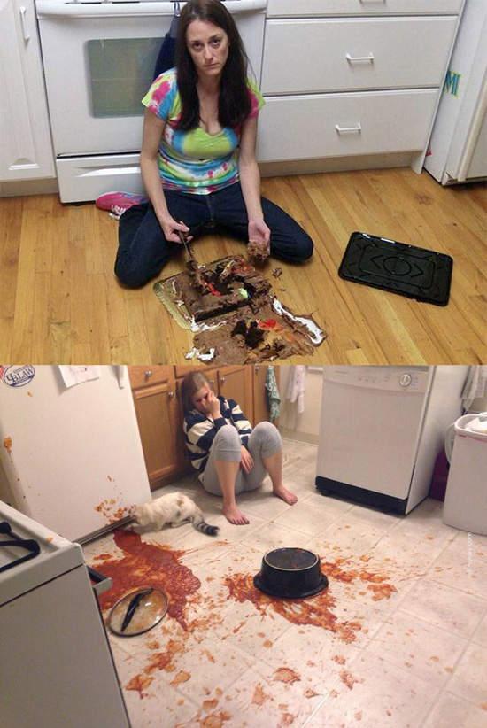 18個上一秒還以為會吃到美食但下一秒卻跌到谷底的「超倒楣吃客」。