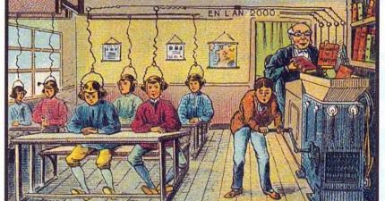1900年古人預測「2000年世界模樣」 「鯨魚巴士」根本是3000年!