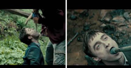 哈利波特變成會放屁的「多功能屍體」,很多人看到1:10超WTF就看不下去了...