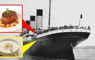 鐵達尼號「最後菜單」大曝光!看著頭等艙的豪華主餐對比三等艙的悲慘菜色,讓人有股淡淡的哀傷...