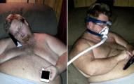男子重達209公斤連呼吸都困難,他為家人「狂瘦136公斤」之後的激瘦照讓網友都大喊「簡直比PS還扯」!