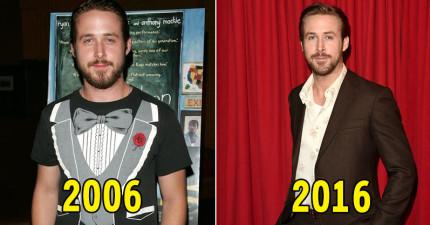 20位知名男星「十年前vs今年對比照」證明有些男人還是等久一點食用才會更美味!