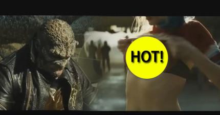 才剛推出的《自殺突擊隊》預告片已經突破300萬觀看次數了,因為40秒讓我不得不放慢影片速度...