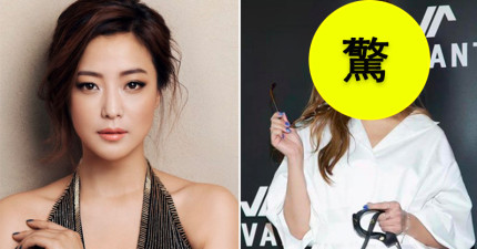 韓國美女金喜善日前為墨鏡站台,但臉部歪斜的模樣都讓粉絲哭喊:「還我金喜善」!