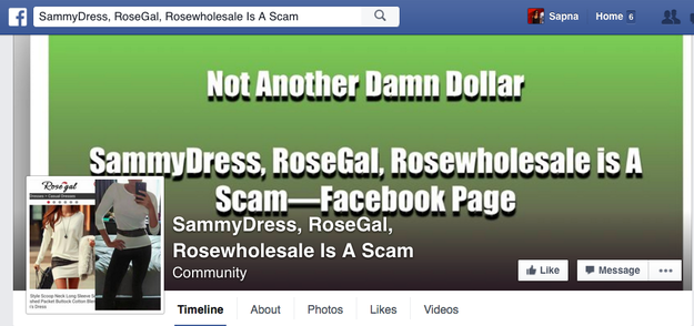 For now, women are trying to warn each other on Facebook through groups like these: