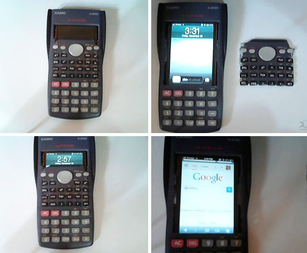 Calculators know numbers, but smartphones know everything else.