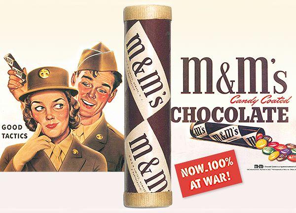 你可能覺得M&Ms巧克力是做給小孩子吃的,但它過去「被血灌溉出的歷史」會讓你不敢相信...