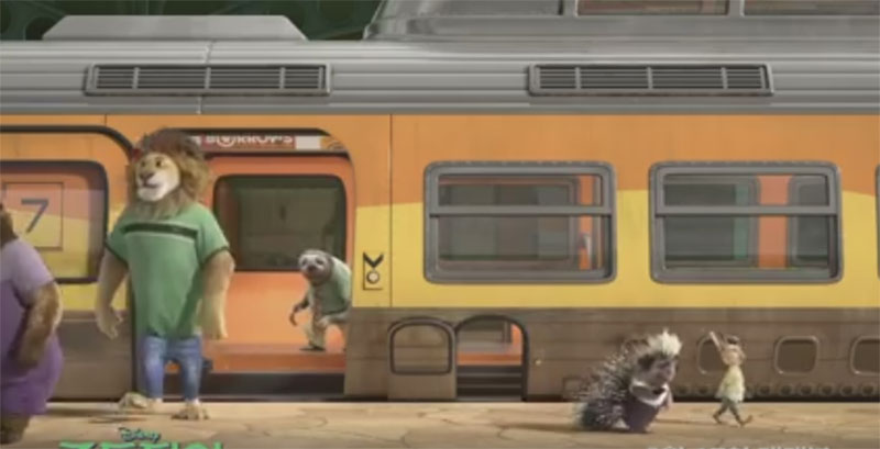光看到韓國《動物方城市》預告片裡「快俠」的下場後,我就覺得想要多看一次了!