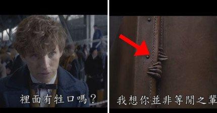 哈利波特前傳《怪獸與牠們的產地》的中文預告片終於出爐囉!49秒的「麻瓜模式」讓我期待到爆了!