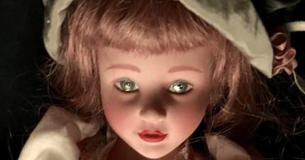 這個網站現在正在直播一個「被附身的洋娃娃」,你如果自認不怕的話就去看看吧!