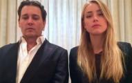 強尼戴普跟太太的一起拍攝的「被迫道歉影片」,讓我差點流淚了...