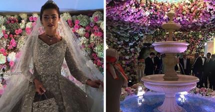 俄國石油大亨砸320億台幣替兒子舉辦超夢幻婚禮,光看到賓客拿到的超昂貴禮品就覺得夠誇張了!