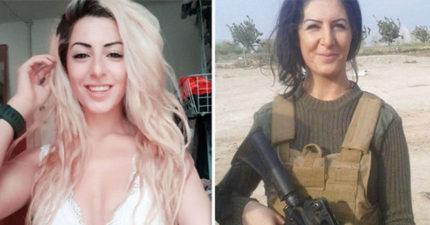 丹麥女大生前往前線對抗ISIS透露「他們很好殺」,但最讓她害怕的其實是「這些機密訊息」!