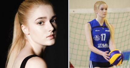 這位俄羅斯正妹被網友封為「世界最美的排球選手」,知道她的另一個「超神秘職業」後絕對會讓你更愛她!