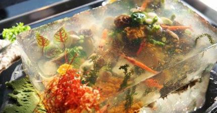 夏天到了高雄人竟改吃「活體水族箱」,看到神級的製作過程覺得花10萬都值得啊!