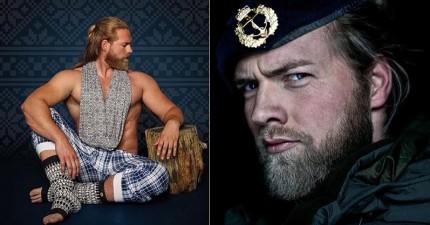 這名挪威海軍上尉被封為「真實世界的雷神索爾」,看到他脫掉衣服照片後才發現電影裡的那個是冒牌貨!