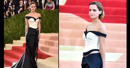 你可能只注意到艾瑪華森紅毯上美麗的禮服,但她「藉此拯救世界」會讓你更愛她!