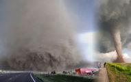 這個有375萬點閱人次的「車快沒油逃離最瘋狂龍捲風」影片會讓你發現大自然比電腦動畫還要恐怖!