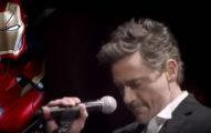 小勞勃·道尼上台跟史汀唱歌以為他只是當個伴唱,一開口網友說「如果看到我女友跟他愛愛我會嫉妒她!」