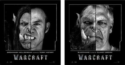 《魔獸:崛起》演員與獸人對照照片曝光,吳彥祖飾演的古爾丹讓人直呼「特效團隊太強大!」