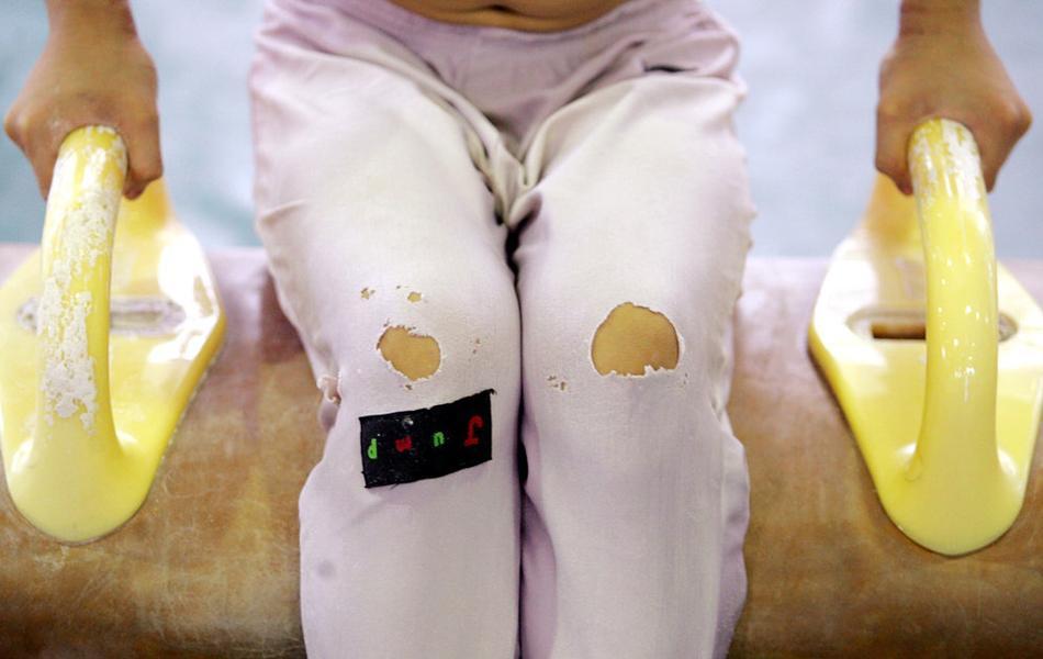 中國奧運金牌曝光「超殘酷幕後訓練照」 看完覺得贏100個金牌都不值啊!