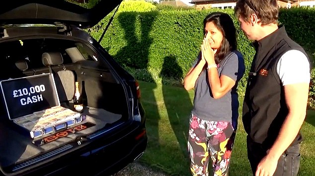 STIAN_SUPERCAR WINNERS_IMAGE002 A WIFE won a £95,000 Mercedes in a supercar competition…just seven months after her husband won a £125,000 McLaren in the same competition.  Lakshmi Thurairatnum took delivery of the gleaming black Mercedes GLE63-S AMG Coupe on Monday (May 16) this week after entering the Best of the Best (BOTB) supercar competition.  The recruitment director had entered the competition after husband Prash, a practice manager of a health centre, won a red McLaren 540C.  The couple, of Epsom, Surrey, also both scooped £10,000 in cash - which was hidden in the boot of the respective cars and free petrol for a whole year. Lakshmi Thurairatnum with Mercedes STIAN ALEXANDER 07528 679198