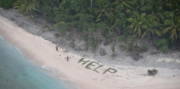 他們懷疑這對母女登山時遭遇到不測因此就派出直升機,這是他們看到的景象。