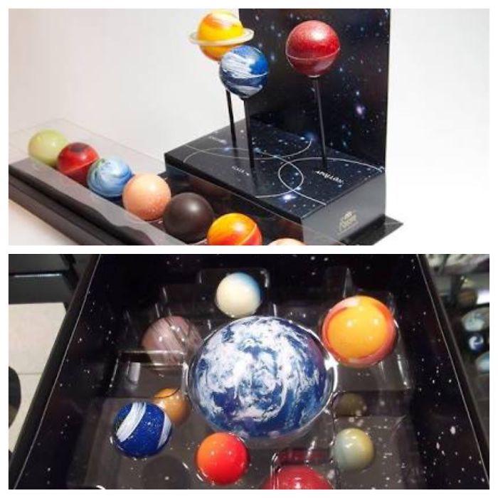 Japanese Space Chocolates