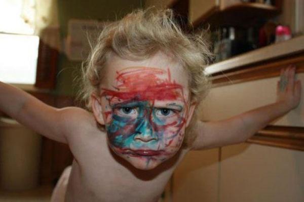 21張照片證明人類小時候還是有點可愛的。
