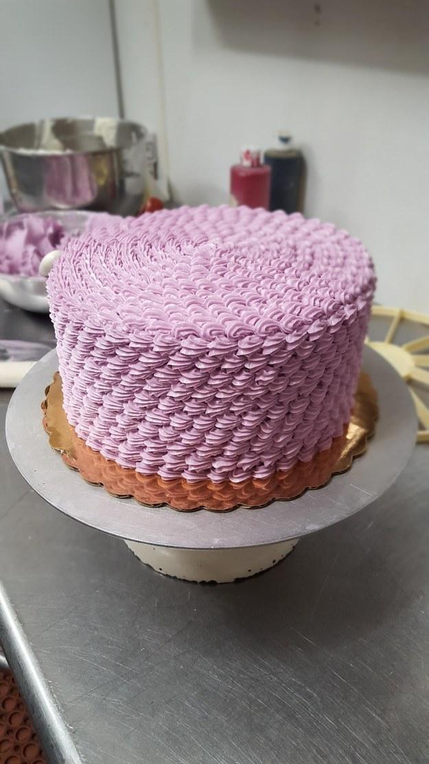 This stunning cake.