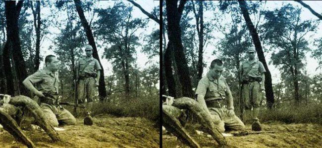 這是二次世界大戰遺留的「血腥日本人切腹記錄照」,刺下去時就看到了現代人沒有的強大武士覺悟...