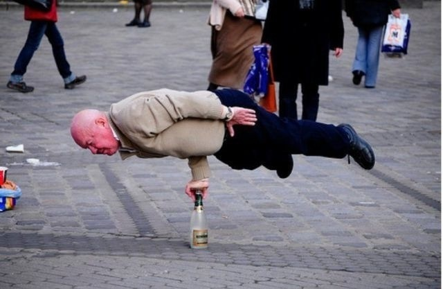 Life is a balancing act.