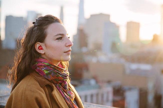All you have to do is give Pilot earbuds to both people involved and start chatting!