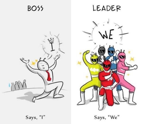 8張真的會讓你開竅的,如何分辨出「優秀的領導者」跟「不是人的老闆」圖片!