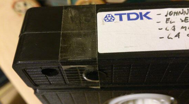 They will never understand how a piece of tape can save your fondest recorded memories: