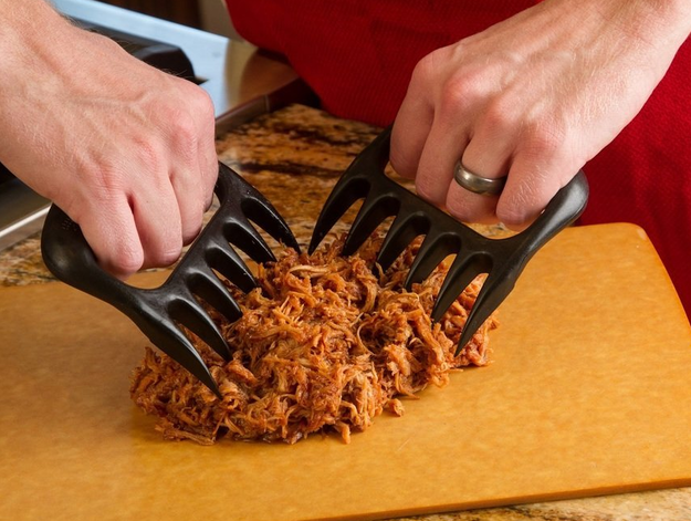 Claws to help you shred meat bear-style.
