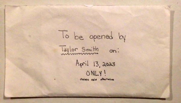 他們12歲的女兒去世後就找到了這封信,一讀「時空穿梭」內容時就淚崩了...