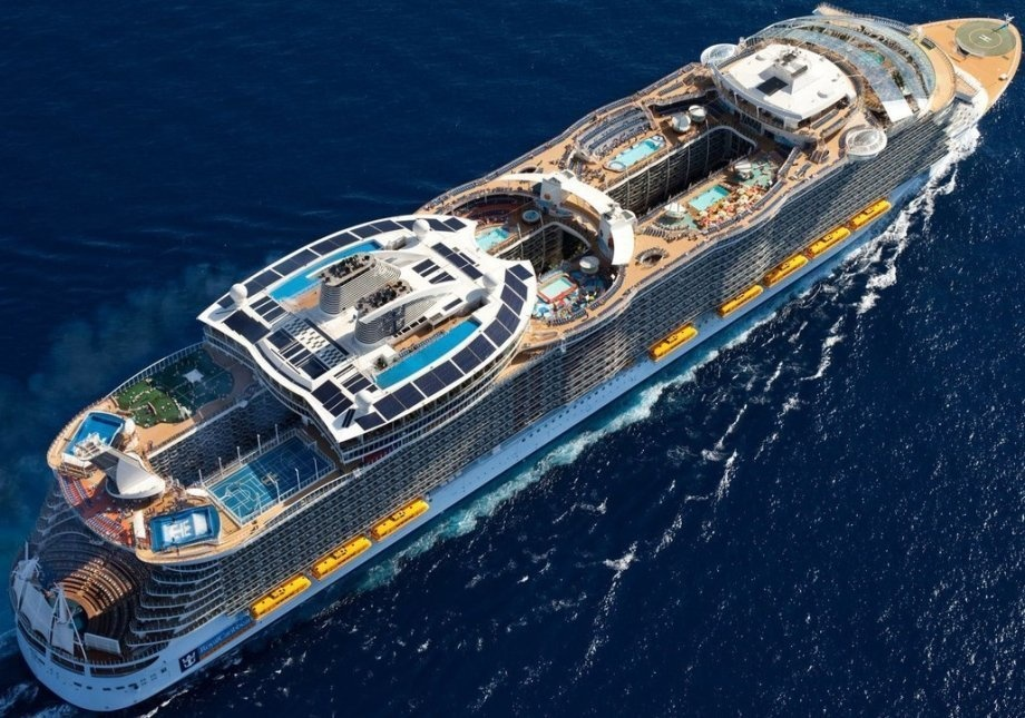 Harmony of the Seas will spend the summer travelling around Europe before beginning it's voyage to the US in the winter.