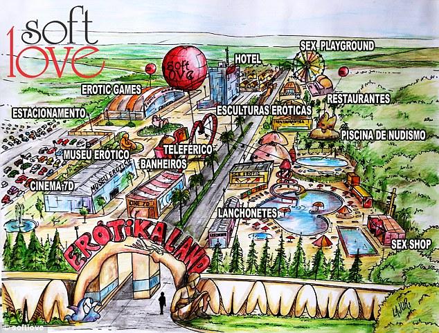 全球首座「性.愛主題樂園」即將開幕,「互撞生殖器」遊樂設施讓人想預購票!
