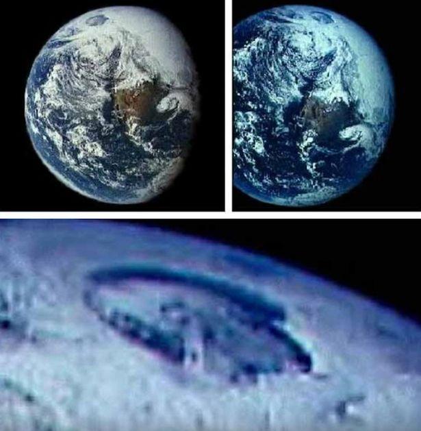 網友看到這張「被NASA刻意修圖」的照片就發現不對勁的地方了!原來地球上一直有這樣的入口?!