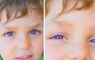 他真的沒有帶變色片,這是全世界只有600人才有的最夢幻「紫羅蘭眼睛」!