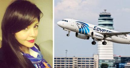 埃及航空失聯墜毀可能另有原因?罹難空姐曾在失事前PO出「超詭異離奇照片」。